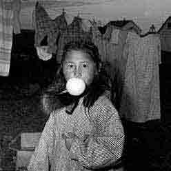 Child with Bubblegum