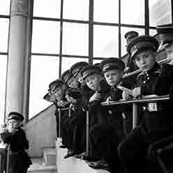 Young Cadets in School