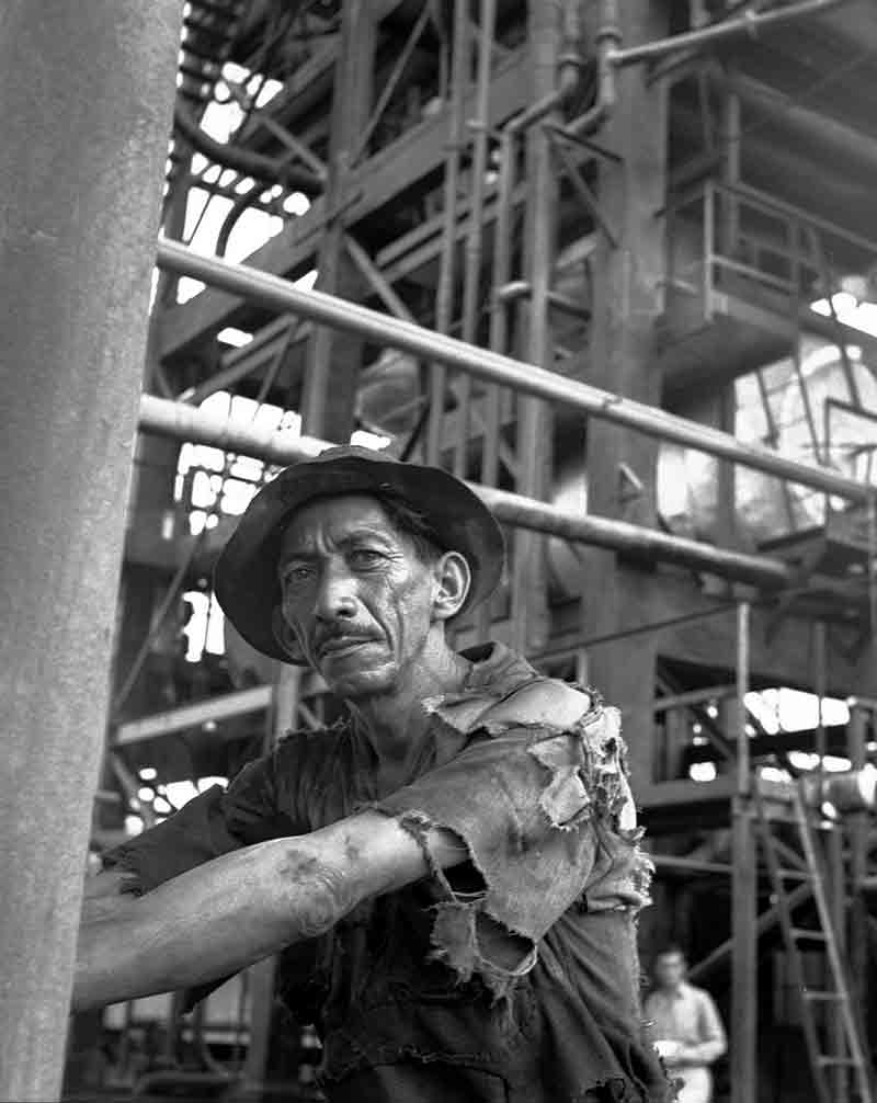 Worker in Silver Mine
