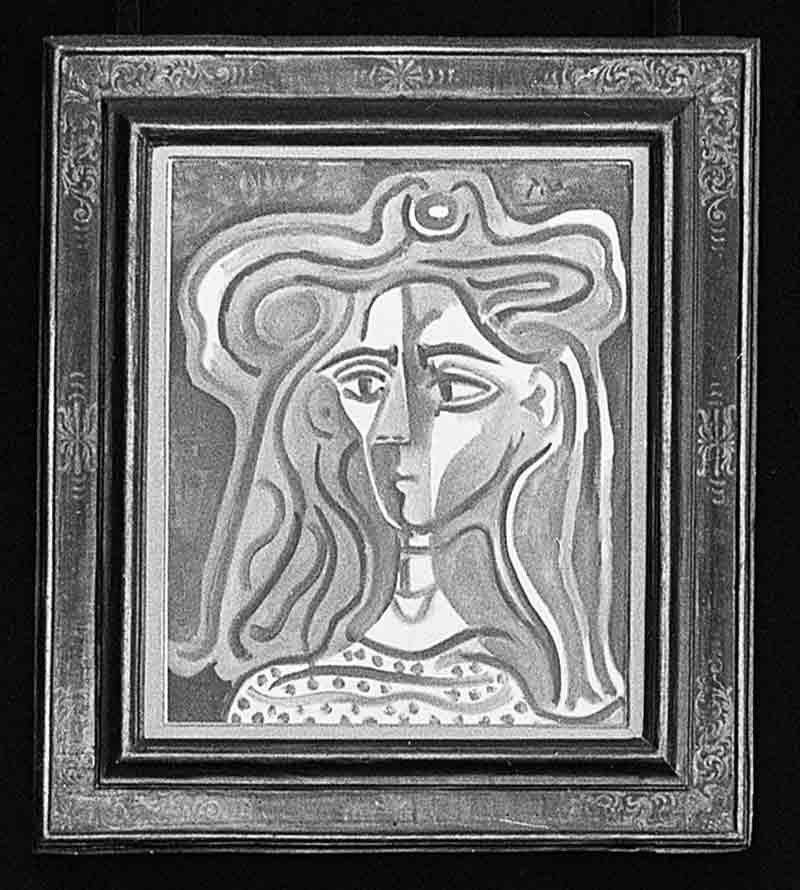 Picasso Bust of a Woman